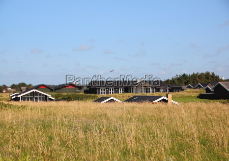 danish, summer, houses, in, hills, with - 15719130