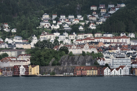 view of wooden coloured houses on