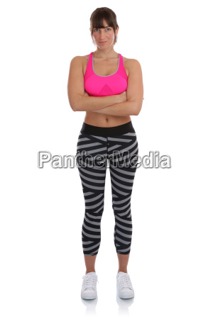 young fitness sport woman workout are