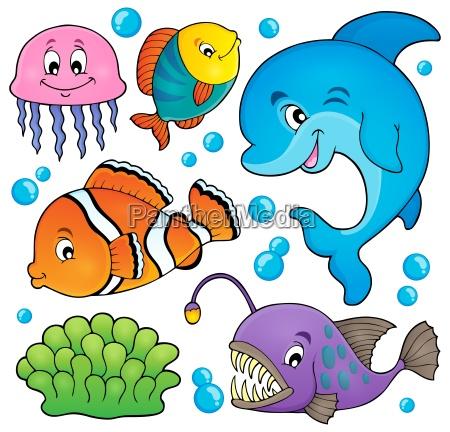ocean fauna topic set 1