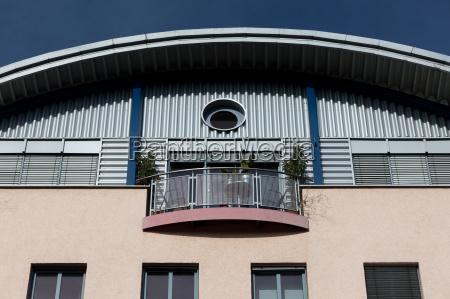 sun on the balcony