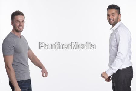 2 young men
