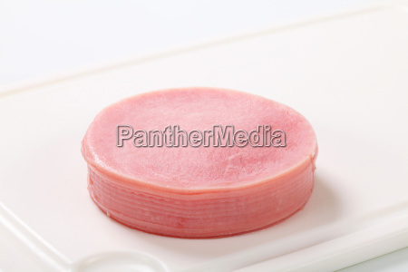 thin slices of ham