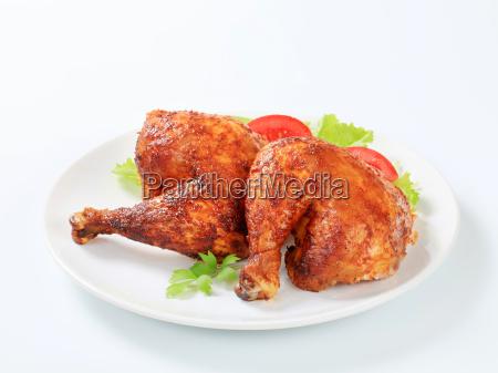 garlic roasted chicken legs