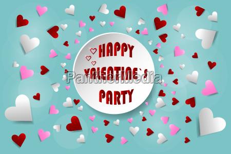 happy valentines day invitation card