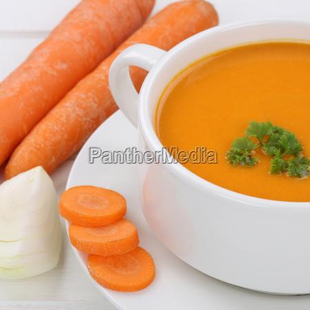 healthy diet carrot soup carrot soup