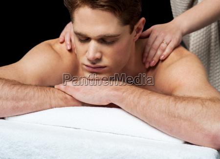 i feel so good during spa