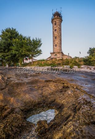 leuchtturm in savudrija istria kroatien