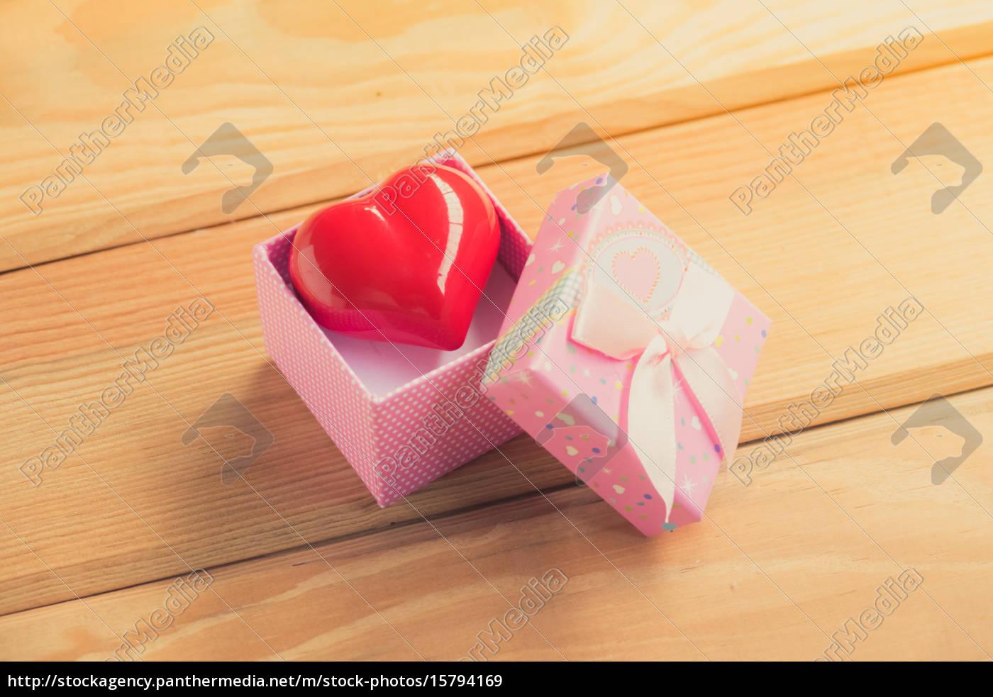 geschenk, der, liebe., herzhaftes, geschenk., eine - 15794169