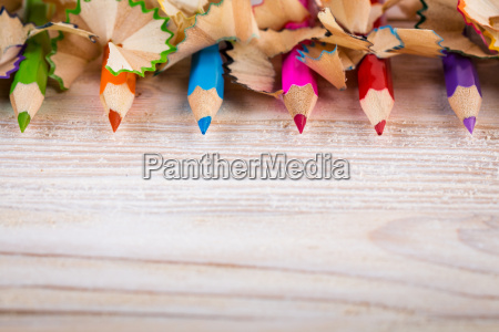 being creative with pencils and pencil