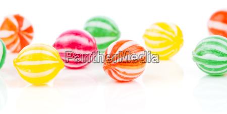 farbigen bonbons
