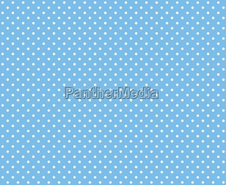 puenktchenmuster hellblau weiss