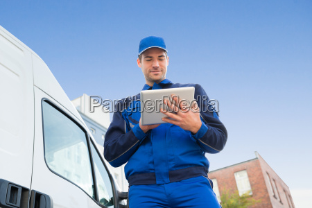 mit delivery man tablet pc mit