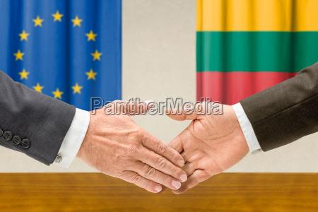representatives of the eu and lithuania