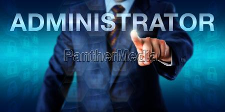 vorstand pressing administratoren onscreen