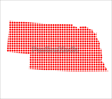 red dot karte von nebraska