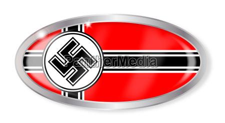nazi flaggen oval knopf