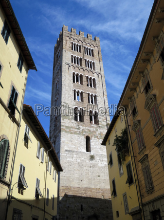 bell tower of the basilica of