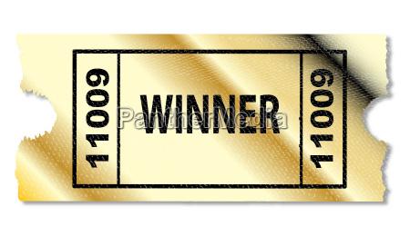 golden sieger gewinner goldgelb lotterie goldfarben