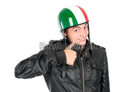 faerdsel faerdselsvaesen cyklist hjelm juvenil transportvaesen