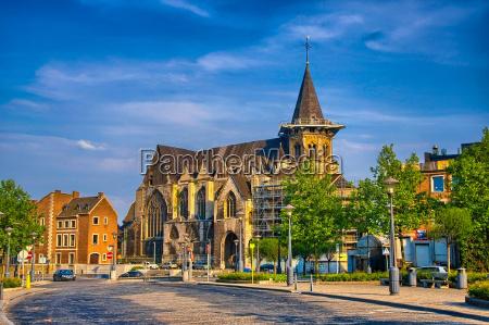 collegiale sainte croix katholische kirche in