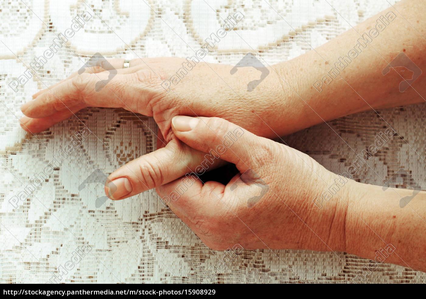 Fingern frau