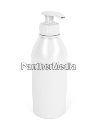 kunststoff flasche mit pumpe