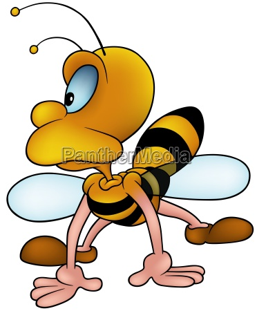 honeybee looking to the left