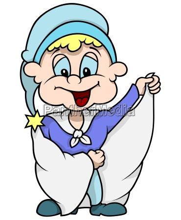 blue dwarf with long coat