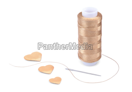the spool of thick nylon thread