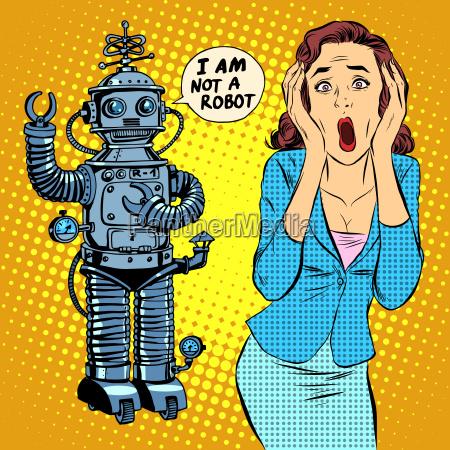 science fiction horror roboter frau panik