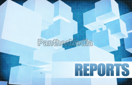 reports on futuristic abstract