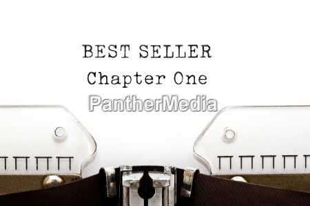 best seller chapter one schreibmaschine