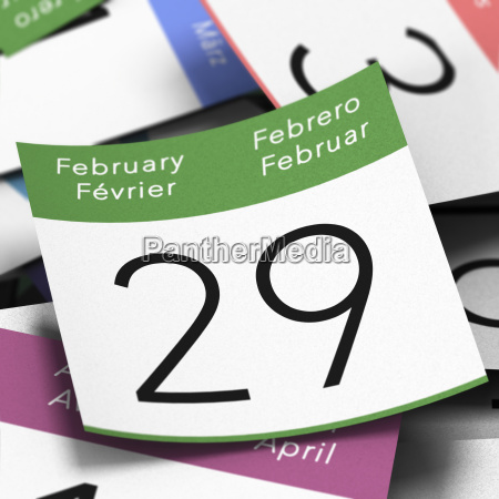 leap year 29 februar