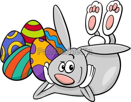 easter bunny cartoon character