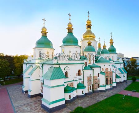 das beruehmte st sophia kathedrale ukraine