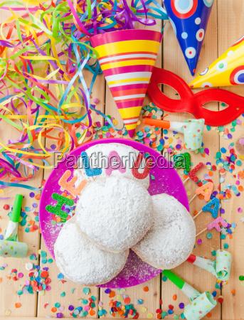 fresh donuts for carnival