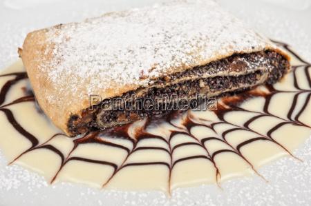 pfannkuchen, mit, mohnsamen - 16034007