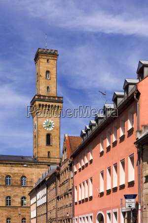 fuerth bayern town hall tower