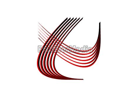 linien schlange symbole freigestellt
