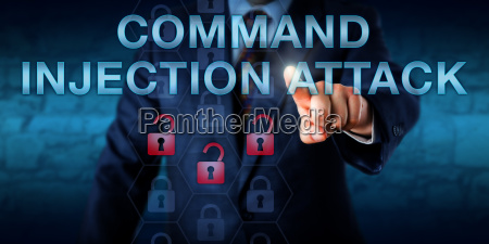 angreifer der command injection attack beruehrt