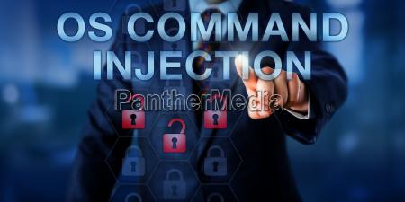 corporate user beruehren os command injection