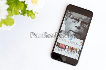 facebook papier anwendung auf dem iphone