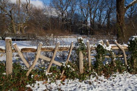 winter im berliner volkspark friedrichshain