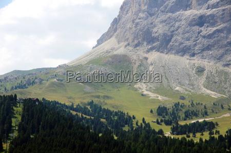 berglandschaft am groednerjoch