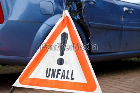 incidente incidente stradale incidente auto triangolo