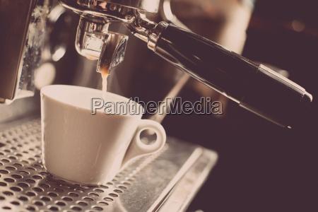 espresso maschine zur herstellung von