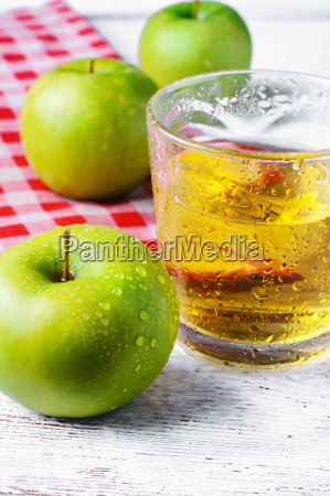 juice of green apple