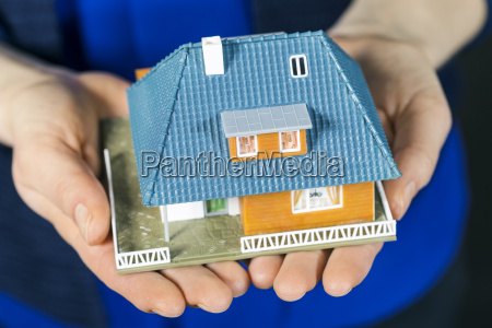 real estate concept small scale