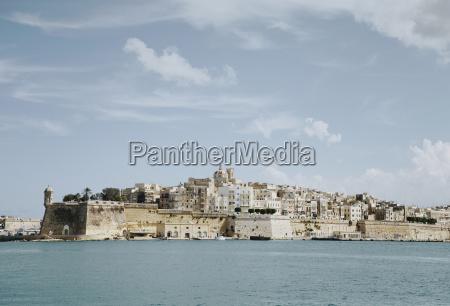 panoramic view of valletta malta